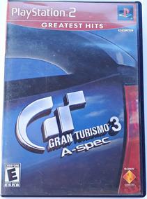 Somente Capa Gran Turismo 3 Playstation 2 Com Manuais S/jogo