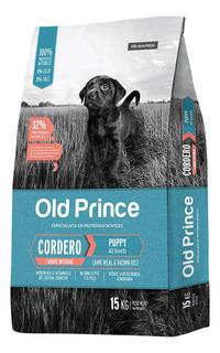Old Prince Novel Cordero Y Arroz Cachorro 15 Kg
