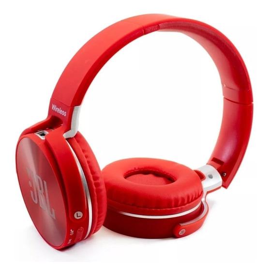 Fone Bluetooth Jbl Jb950 Sem Fio Cartão Sd Rádio Fm + Brinde