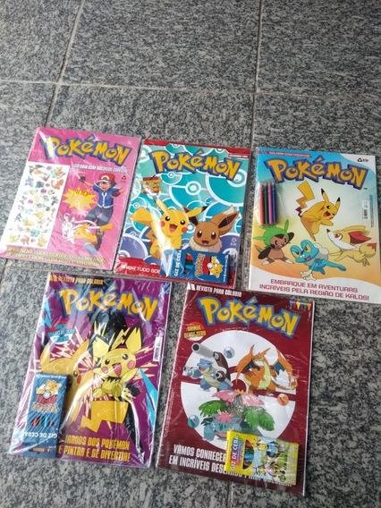 Kit Revistas Para Colorir Pokémon