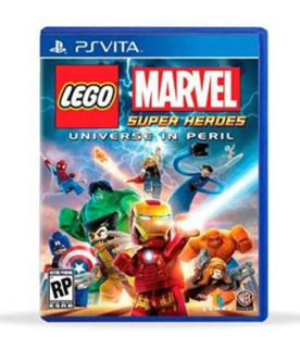 Juego Lego Marvel Super Heroes Universe In Peril - Ps Vita