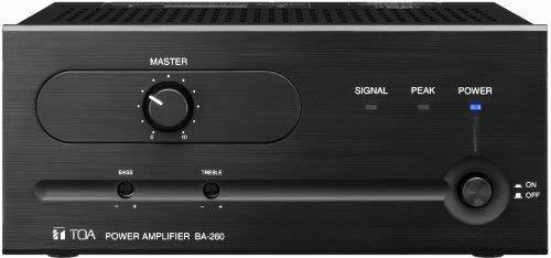 Amplificador Toa Ba-260 60 Watt Power Amplificador ®