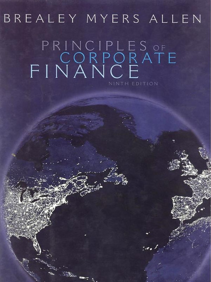 Principles Of Corporate Finance - 9th Ed