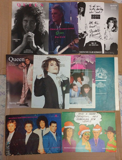 16 Revistas Queen Fã Clube Oficial