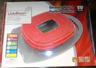Rompecabeza 3d Puzzle Germany Estadio Bayern Munich Football