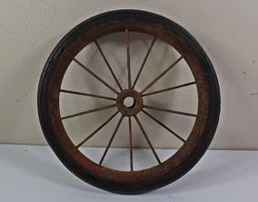 Antiga Roda Pedal Car - Austin Bandeirantes Triciclo Lata