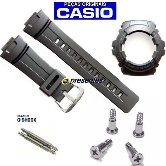 Pulseira Bezel +4 Screw Bezel +2 Pinos Pulseira G100 G-shock