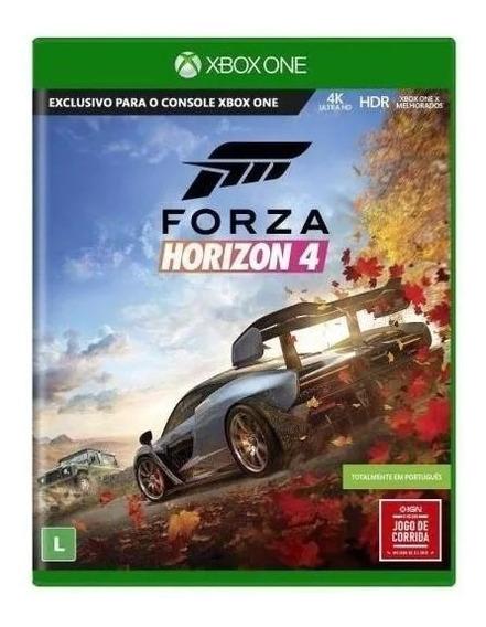 Forza Horizon 4 Xbox One Mídia Física Nacional Lacrado Rj