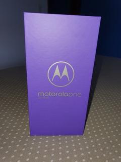 Celular Moto One Zerado