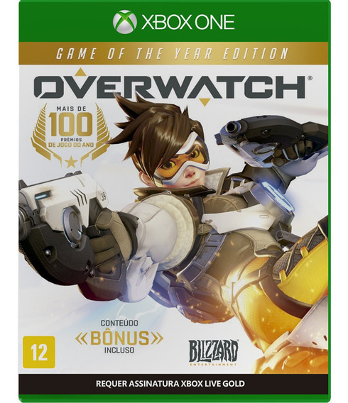 Jogo Overwatch Xbox One Mídia Física Game Lacrado Português