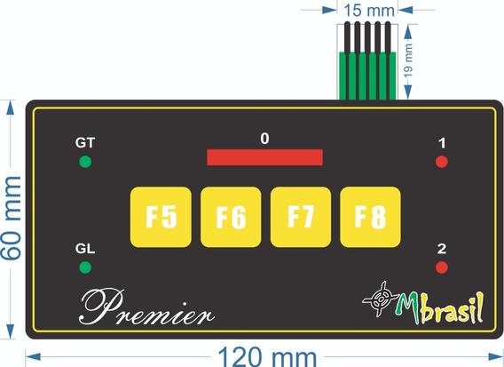 Teclado Para Alinhador Hofmann Dsp 8 S ( Preto ) - Cód 513