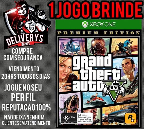 Gta V Xbox One Midia Digital + 1 Brinde