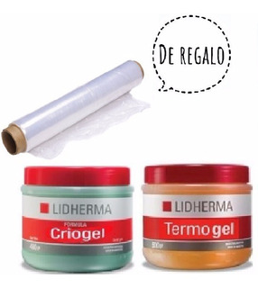 Quemadores Grasa Kit Reductor Termogel + Criogel Film Regalo