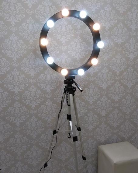 12 Lampada Led Bulbo Para Camarim Ring Light Penteadeira
