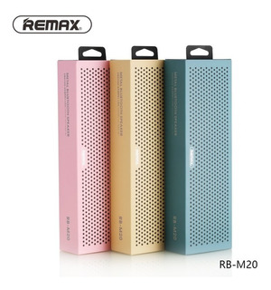 Parlante Remax Rb-m20 Bluetooth Portatil En 3 Colores