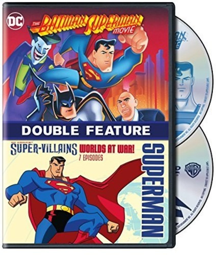 Dvd Batman-superman Movie / Super Villains: Worlds At