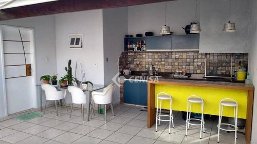 Casa Com 4 Dormitórios À Venda, 300 M² Por R$ 750.000,00 - Jardim Regina - Indaiatuba/sp - Ca1861