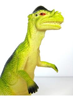 Dinosaurio Goma N17 Pachycephalosaurus Mediano Juguetes