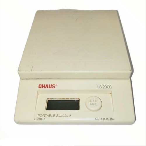 Balanza Ohaus  Precision Ohaus Modelo Ls-2000 Made In Suiza