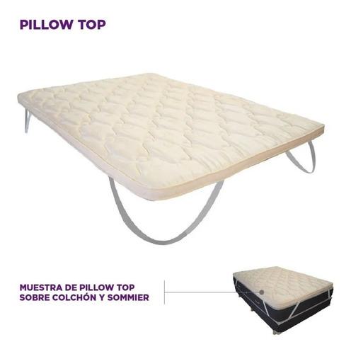 Imagen 1 de 6 de Pillow Top Soft Desmontable 190 X 140 X 5 Cm