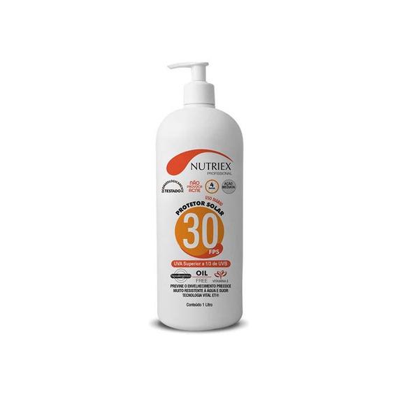 Protetor Solar Fps 30 1/3 Uva 1lt Nutriex
