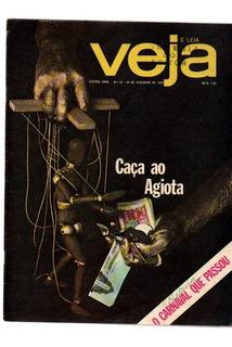Revista Veja Caça Ao Agiota Nº 25 26/02/1969