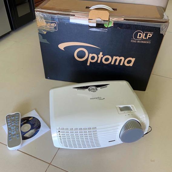 Projetor Optoma Hd20 1080p 1700 Ansi Lumens