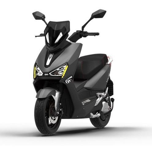 Imagem 1 de 10 de Scooter Moto Elétrica Voltz Ev1 Sport Cinza - 2 Baterias