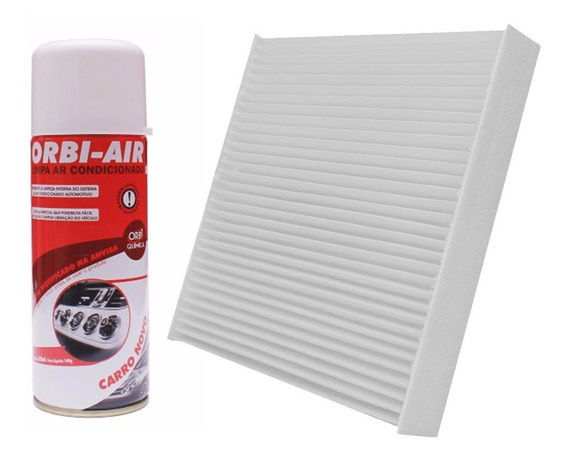 Filtro Ar Condicionado Cabine + Higienizador - Nova Ecosport