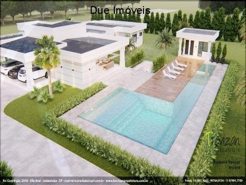 Casa Altíssimo Padrão No Condomínio Shanadu - Ch00165 - 68852887