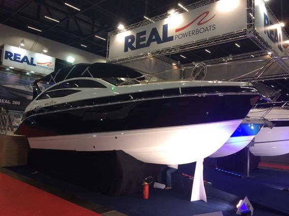 Lancha Real 330 C Mercruiser 6.2 300hp Nova Lançamento