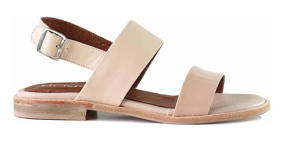 Sandalia Cuero Mujer Briganti Zapato Vestir - Mcsd04802 Vh