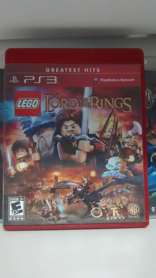 Jogo Para Ps3: Lego The Lord Of The Rings. Frete Grátis
