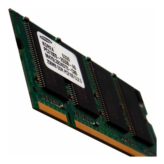 Memória Notebook Ddr 256mb 266mhz Acer Hp (3448)