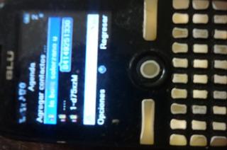 Telefono Blu Deco Mini Para Reparar O Repuesto