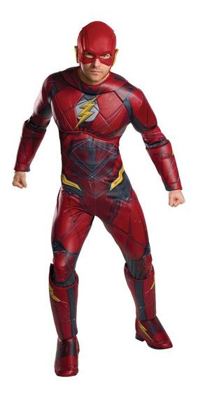 Disfraz Flash Liga Justicia Importado Talla L