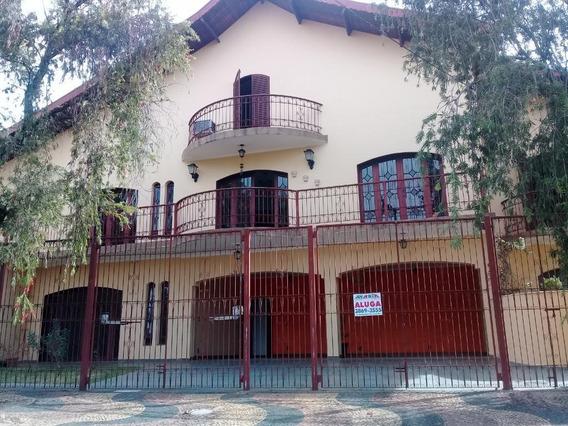 Casa Com 4 Dormitórios Para Alugar, 406 M² Por R$ 3.500/mês - Parque Terranova - Valinhos/sp - Ca1850