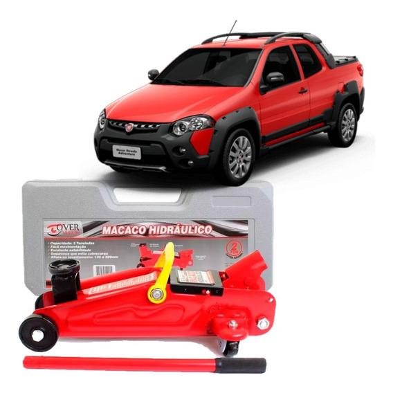 Macaco Hidraulico Jacare 2 Toneladas Fiat Strada Tds