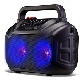 Caixa De Som Multilaser Bluetooth Usb Micro Sd 80w Rms Sp289