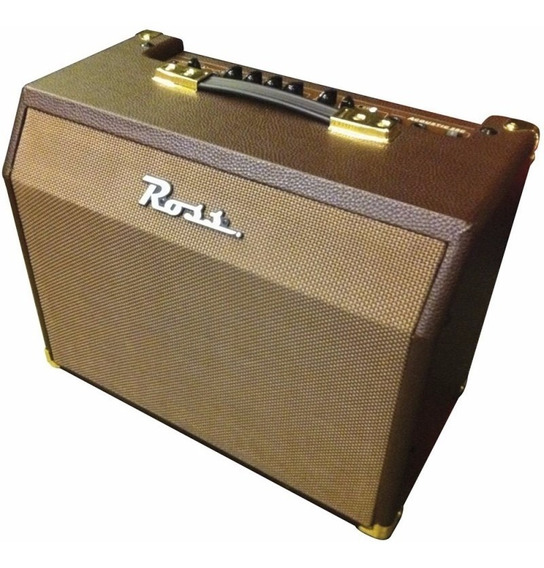 Amplificador Guitarra Acustica Ross A25 W Ideal Karaoke
