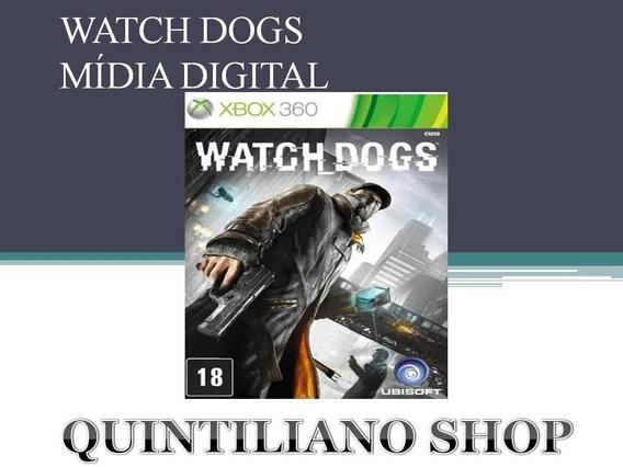 Watch Dogs Xbox 360 Mídia Digital