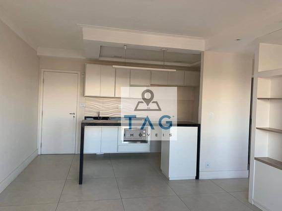 Apartamento Com 1 Dormitório À Venda, 47 M² Por R$ 380.000 - Botafogo - Campinas/sp - Ap0539
