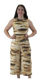 Macacão Feminino Longo Pantalona Pantacourt Social Elegante