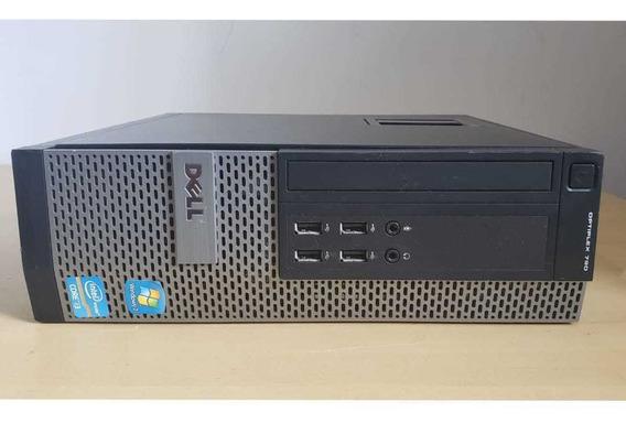 Pc Cpu Desktop Dell 790 Core I3 3.30ghz Ssd 120gb Wi-fi 4gb