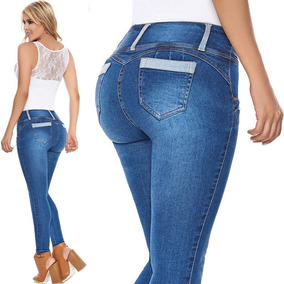 Pantalon Entubado America Pantalones Y Jeans De Mujer Jean Laty Rose 7 En Mercado Libre Mexico