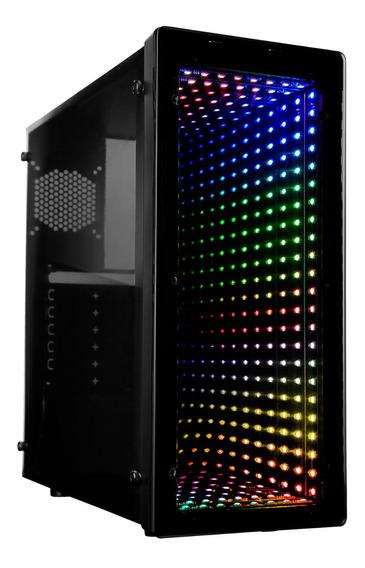 Gabinete Gamer Raidmax Galaxy Atx Cristal Templado X230fab