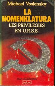 Livro La Nomenklatura: Les Privilégiés En Urss