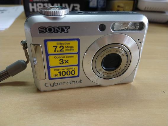 Câmera Fotográfica Cyber-shot Dsc-s650 ** Com Defeito **
