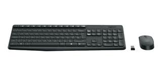 Teclado + Mouse Logitech Mk235 Wireless