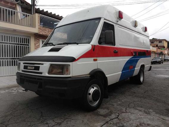 Fiat Iveco 4912 Furgão Longa Teto Alto Km 95000